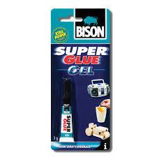 <b>Клей SUPER GLUE</b> GEL 3гр. — <b>BISON</b> — Россия