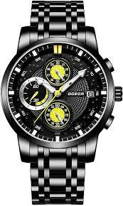 Mens Watches Sports 30M Waterproof Chronograph ... - Amazon.com