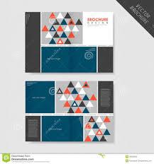 bi fold flyer template best agenda templates half page brochure template