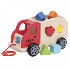 Деревянная игрушка <b>New</b> Cassic <b>Toys</b> Грузовик-<b>сортер</b> ...