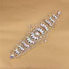 top 10 largest <b>luxury</b> bridal sash belt rhinestone ideas and get free ...