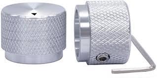 Taiss/ <b>2pcs</b> Silver Color Aluminum <b>Rotary</b> Electronic Control ...