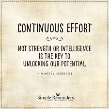 the key to unlocking our potential continuous effort not the key to unlocking our potential continuous effort not strength or intelligence is the