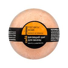 "Café mimi <b>Бурлящий шар для ванны</b> ""Манго и апельсин"" 120гр ..."