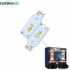 <b>10pcs</b>/<b>lot</b> X3 <b>Auto</b> Headlight ZES LED Chip Light Source 880 <b>9004</b> ...