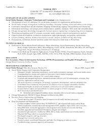 professional summary on resume s professional resume summary slideshare resume sample chief financial officer page