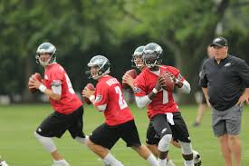 Michael Vick, Nick Foles, Matt Barkley