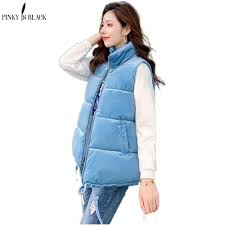 <b>PinkyIsBlack</b> Winter Vest <b>Women</b> Waistcoat <b>2020 Female</b> ...