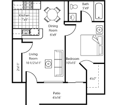 Marvelous One Room House Plans   One Bedroom One Bath House Plans    Marvelous One Room House Plans   One Bedroom One Bath House Plans