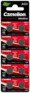 ROZETKA | <b>Батарейки</b> Camelion AG 3 LR41 10 шт (<b>AG3</b>-BP10 ...