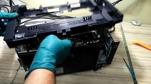 Инструкция как разобрать HP LaserJet Pro M125ra (замена ...