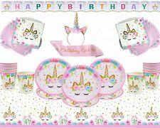 Paper <b>Party Tableware Unicorns Party Plates</b> for sale   eBay