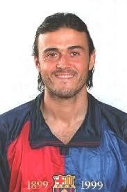 Luis Enrique <b>Martinez Garcia</b> signe au Barca en 1996. - luis1