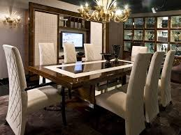 Tufted Leather Dining Room Chairs Charming Home Interior Design Ideas With Minotti Dining Table