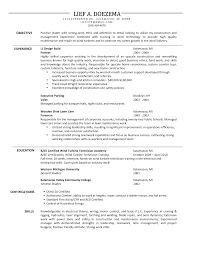 general laborer resume example  professional resume template    sample carpenter resume example