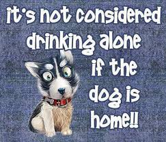 Its not considered drinking alone | Funny Dirty Adult Jokes, Memes ... via Relatably.com