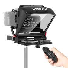 Neewer <b>X1</b> Mini Teleprompter <b>Portable</b> Smartphone Teleprompter ...