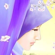 Image result for kartun muslimah tunduk malu