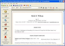 resume builder resume writing tool by sarm software what are some free resume builder sites