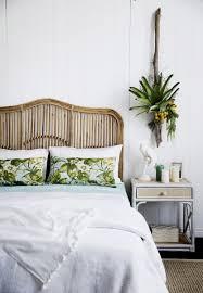 piece natural wicker rattan bedroom furniture