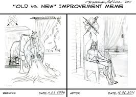 Old vs New Meme by DraconianArtLine on DeviantArt via Relatably.com