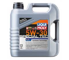 <b>Моторное масло</b> синтетическое <b>LIQUI MOLY</b> Special Tec 5W-30, 4л