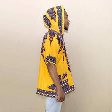 Online Shop <b>Dashikiage</b> Yellow Mens Hipster Hip Hop African ...