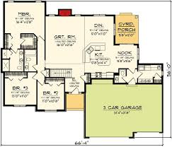 Ranch home plans  Ranch homes and Home plans on Pinterest bedrooms  no bonus room or basement