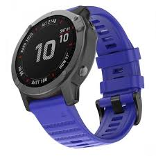 Garmin Fenix 6 22mm <b>Smart</b> Watch Strap <b>Replacement Silicone</b> ...