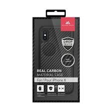 <b>Чехол Black Rock</b> Material Case Real Carbon для iPhone X