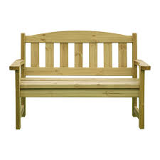 Wooden <b>Garden Bench 2 Seater</b>