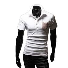 Shop <b>Zogaa New Men's POLO</b> Shirt Matching Color Short Sleeve ...