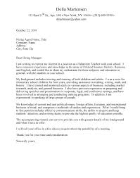 funny cover letter