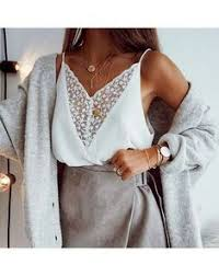 <b>Women'S Sexy Lace</b> V-Neck Sling Top in 2019 | Fall outfit ...