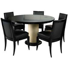 jacques adnet art deco dining table and 6 chairs art deco dining furniture
