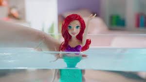 <b>Disney Princess Кукла Ариэль</b> плавающая - YouTube