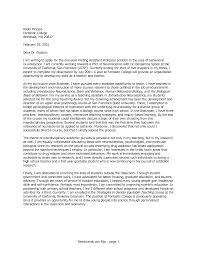 Molecular Biologist Cover Letter Sample Templates UCSF Career   University of California  San Francisco