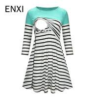 enxi 8 color summer pregnant womens clothes maternity chiffon blouses sexy tops v neck casual shirts pregnancy clothing