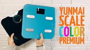 Обзор смарт <b>весов Yunmai</b> Color & Premium - YouTube
