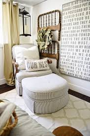 fan guest bedroom interior makeover
