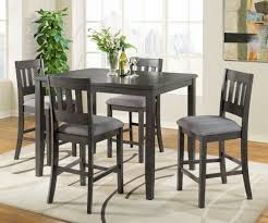 Counter Height <b>Five Piece Dining</b> Set | Walker Furniture & Mattress ...