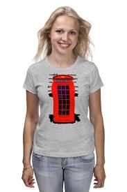 Футболка классическая <b>London Phone</b> Booth #709739 – заказать ...