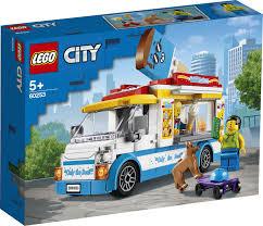 Купить <b>Конструктор LEGO City</b> 60253 <b>Грузовик</b> мороженщика с ...