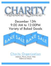 bake flyers flyer designs charity bake
