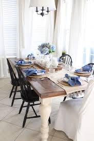 Cottage Style Kitchen Tables 1000 Ideas About Farmhouse Dining Tables On Pinterest Dinning