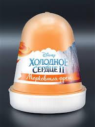 Disney Fluffy <b>слайм</b> Холодное сердце. Морковный фреш <b>Kiki</b> ...