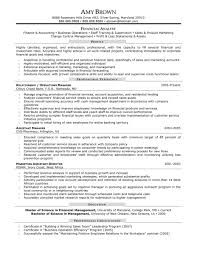 bank cfo resume examples cipanewsletter cover letter resume examples for finance resume examples for