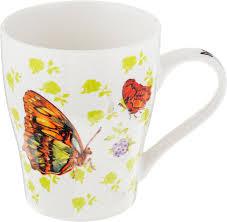 """<b>Кружка Loraine</b> """"<b>Бабочки</b>"""", <b>340</b> мл. 26586-2 — купить в интернет ..."""