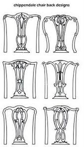here are some chair backs in the chippendale style antique chair styles furniture e2