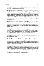 appendix d executive summary from outsourcing management page 107
